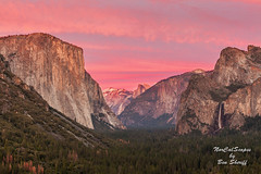 Yosemite Valley Sunset (Ben Sheriff Photography) Tags: winter sunset northerncalifornia canon 50mm yosemite halfdome yosemitenationalpark 12 elcapitan f11 bridalveilfalls yosemitevalley tuolumnemeadows tunnelview sierranevadamountains landscapephotography canon5dmarkii