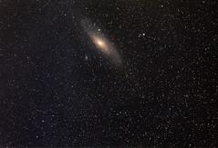 Andromeda (ChrisBrn) Tags: sky night stars andromeda galaxy