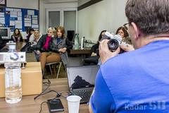 Predavanje o povijesti fotografije i osnovnim dijelovima fotoaparata.