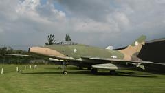 Super 'Century' Sabre (ƒliçkrwåy) Tags: museum aircraft aviation military f100 super sabre newark northamerican winthorpe 542223
