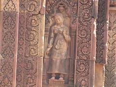 Beautiful Stone Carving Banteay Srei