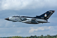 100 Years of RAF Marham GR4 (np1991) Tags: camera uk england slr tattoo digital lens nikon force bigma painted aircraft aviation air united tail royal sigma kingdom special airshow international planes years 100 50500 500 dslr 50 scheme tornado 31 raf squadron fairford riat centenary 2016 sqn 50500mm panavia gr4 marham d7100