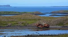 Shipwreck by Stykkisholmur (Martin Ystenes - on Iceland) Tags: iceland sland vesturland martinystenes