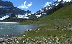 Salenfe (bulbocode909) Tags: nature suisse vert bleu arbres neige lacs nuages paysages valais montagnes salenfe coldesusenfe
