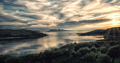 Over the sea to Skye (heidiblanksma) Tags: skye rum mallaig sunset islands scotland lochaber west coast romantic scottish holiday clouds sea islandhopping beauty nikon d5300