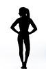 Fever Dreams: Silhouette (Steve Gray) Tags: silhouette implied impliednude nude figure blackandwhite highkey contrast monochrome feverdream stevengray stevengrayphotography form female model modeling hair curves naked topless