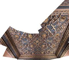 Ceiling pano (partial) (petyr.rahl) Tags: spain zaragoza aljafería aragón es