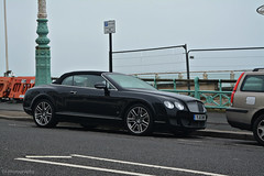 Bentley Continental GTC Series 51 (CA Photography2012) Tags: yj11dwf bentley continental gtc series 51 gt grand tourer w12 convertible british luxury supercar special edition limited rare exotic car spotting ca photography automotive brighton