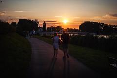 332/365 Malta Summer Eve (ewitsoe) Tags: ewitsoe malta lake walk couple nikond80 35mm street summer evening saturdaynight sunset sun warm poznan poland europe eaitsoe 365