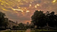 Love the sky (Mado AwaD) Tags: sky cloud color building skyline ma belgium belgie gebouw mado 2016 firesky brussele