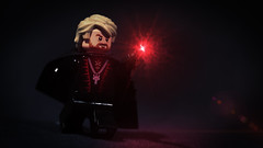 LEGO Gellert Grindelwald (Geertos13) Tags: portrait photoshop dark photography death lego wand magic harry potter master elder custom ariana hallows minifigure dumbledore deathly gregorovitch