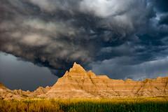 Badlands (Avhead) Tags: storm colors rain weather clouds nikon south badlands nationalparks dakota d610 explored