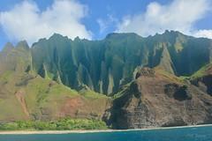 Na Pali Coast (Pink Hibiscus) Tags: kauai napali napalicoast hawaii nikon d800 fx copyrighted allrightsreserved 2016 pinkhibiscus explore