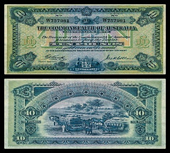 (AUP4a) 1918 Australia: Commonwealth of Australia, Ten Pounds (A/R)... (Jos Pestana) Tags: aup australia billete bills fondonegro fotografa jospestana oceana papermoney simbolo sony sonynex sonynex6 biglietto bilhete billet ithikithi itikiti pilet tiket tiketi tik tiogaid tocyn tkiti
