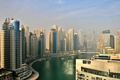 Dubai Marina - UAE (kadryskory) Tags: dubai uae dubaimarina city urban buildings skyline marina boats yachts skyscrapers travel trip kadryskory architecture cityscape water