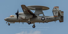 20160502_1016 (HarryMorrowPhotography) Tags: 168990 ab604 vaw125 us navy e2d hawkeye doing several approach procedures oceana may 2016