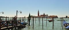 DSC_0053 (bikerchisp) Tags: venice italy ital italia venise canals lagoon bridges gondola holiday vacation europe adriatic sea water waterways streets blue sky bluesky sunshine bikerchisp
