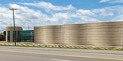 Jaguar of Novi (closed), Novi, MI, July, 2016 (Norm Powell (napowell30d)) Tags: fineart novi summer building travel architecture buildings puremichigan architectural michigan