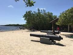 Cannons at John Pennekamp Beach (MyFWCmedia) Tags: cannons beach fwc myfwc myfwccom wildlife florida floridafishandwildlife conservation johnpennekamp keylargo flkeys floridakeys floridastateparks johnpennekampcoralreefstatepark park pennekamp lovefl