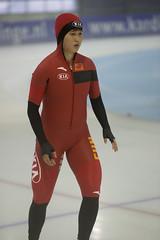 A37W7696 (rieshug 1) Tags: speedskating schaatsen eisschnelllauf skating worldcup isu juniorworldcup worldcupjunioren groningen kardinge sportcentrumkardinge sportstadiumkardinge kardingeicestadium sport knsb ladies dames 500m