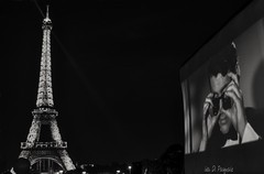 Paris (Ida Di Pasquale (captura65)) Tags: paris eiffel nuit parigi blackwhite torreeiffel