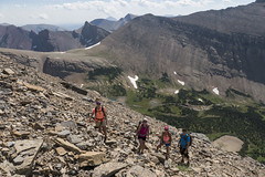 """Climbing Mt. Siyeh • <a style=""""font-size:0.8em;"""" href=""""http://www.flickr.com/photos/63501323@N07/28711053276/"""" target=""""_blank"""">View on Flickr</a>"""