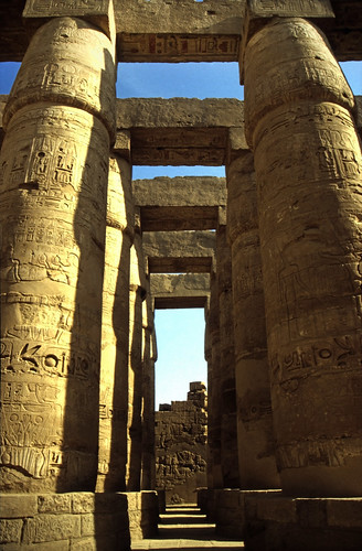 "Ägypten 1999 (346) Karnak-Tempel: Tempel des Amun-Re • <a style=""font-size:0.8em;"" href=""http://www.flickr.com/photos/69570948@N04/28986054512/"" target=""_blank"">View on Flickr</a>"