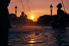 Sunset (T?M) Tags: paris sunset landscape concorde canon 5d mark ii 50mm explore