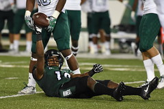 Football-vs-Eastern Michigan, 9/17, Chris Crews, DSC_8183 (Niner Times) Tags: 49ers cusa charlotte d1 emu eagles eastern fbs football michigan ncaa unc uncc ninermedia