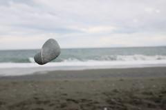 Stone and me 02 (HAMACHI!) Tags: oiso kanagawa 2016 japan summer autumn sea  stone