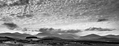 Moody Cairngorms. (AlbOst) Tags: scottishhighlands cairngorms moody landscapes clouds blackandwhite bw