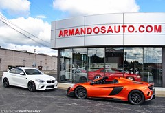 Canfield Cars and Coffee (FourOneTwo Photography) Tags: bmwm2 bmw m2 mclaren675ltspider auto car exotic sportscar supercar canfieldcarsandcoffee carsandcoffee p1pro fouronetwophotography