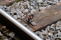 SBB - Track monitoring (Kecko) Tags: 2016 kecko switzerland swiss suisse svizzera schweiz ostschweiz stgallen sg europe bahn bahnhof station eisenbahn railway railroad sbb construction site technique technik technics technology technisch baustelle gleis track schienen messpunkt swissphoto geotagged geo:lat=47423750 geo:lon=9369510