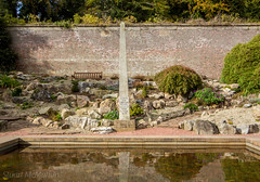 299 - Lesson for the Lord's Day (md93) Tags: belleisle park ayr gardens 366 pond memorial bible reflection landscaped ayrshire