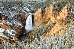 Second contender for most picturesque falls (and there will be others) (transpixt) Tags: nanparegionalevent grandtetons montana nationalpark wyoming yellowstone yellowstonenationalpark usa us