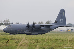 USAF HC-130J 11-5719 (birrlad) Tags: shannon snn international airport ireland aircraft aviation airplane airplanes turboprops prop usaf united states airforce hercules hc130j 115719 c130 reach rch5719 stjohns taxi taxiway takeoff departing departure runway military lockheed