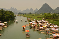 _DSC2492 a (Tartarin2009) Tags: tartarin2009 travel yangshuo nikon d600 china yulongriver raft rafting waterscape water