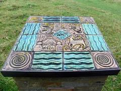 GOC Sawbridgeworth 051: Timeline, Pishiobury Park, Sawbridgeworth (Peter O'Connor aka anemoneprojectors) Tags: 2016 art england gayoutdoorclub goc gochertfordshire gocsawbridgeworth hertfordshire hertfordshiregoc kodak kodakeasysharez981 lindacraig outdoor park pishioburypark sawbridgeworth sculpture timeline z981