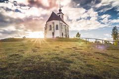 Surreal Faith. (moritzstalleggerphotography) Tags: filters church sun lensflare dynamic landscape