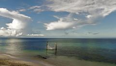 Tranquility (DROSAN DEM) Tags: cozumel mexico playa hamaca beach mar sea sky golden dorado arena sand nubes clouds