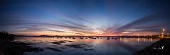 Tinduff... (koulapik) Tags: bzh bretagne finistre bateau panorama plougastel port sunsetsunrise tinduff finistre