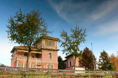 Riflessi D'Autunno (*Donatello*) Tags: city autumn trees fall colors alberi casa case autunno naviglio riflesso