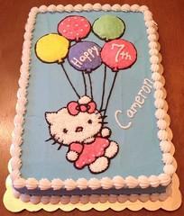 Hello Kitty cake, Triad Area, NC, www.birthdaycakes4free.com