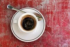Ristretto romano (intemporelbybb) Tags: red rome café rouge italia espresso italie caffé ristretto flickrchallengegroup flickrchallengewinner