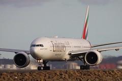 Emirates 777-300ER (joolsgriff) Tags: emirates boeing sydneyairport 777300er a6eck
