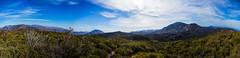 View over the desert and Salton Sea (christophercoxphoto) Tags: california panorama canon landscape julian desert wide wideangle panoramic ultrawide salton canon7d earthporn