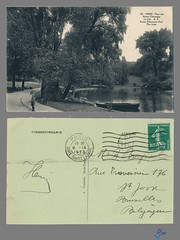 PARIS - Parc des Buttes Chaumont (bDom [+ 3 Mio views - + 40K images/photos]) Tags: paris 1900 oldpostcard cartepostale bdom