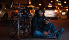 """photograph some of the best stuff on earth"" (Troy Hood Images) Tags: street selfportrait color philadelphia night nikon dof citylife 85mm snapple nightscene speedlights nikoncls su800 d700 sb700 troyhoodimages tehimages photographsomeofthebeststuffonearth"