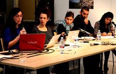 Jornadas de Centros de Creación Logroño - mesaredonda