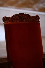 Fauteuil de Tito (georgesubeogradu) Tags: serbia retro musee 70s tito belgrade beograd stari fauteuil srbija houseofflowers serbie mausolee kuca beograde muzej yougoslavie cveca